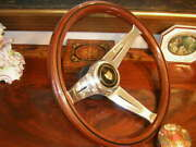 Jaguar Xj6 1975 - 1985 Wood Steering Wheel 13.75 Nardi Deep Dish 3 New