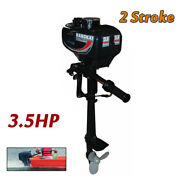 3.5hp 2 Stroke Outboard Boat Motor Engine With Water Cooling System Pull Start