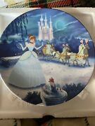 Cinderella First Plate In The Disney Treasure Moments By Bradford Exchange