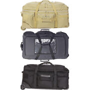 5.11 Unisex Mission Ready 2.0 Weather Resistant Nylon Rolling Duffel 56960