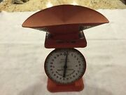 Vintage American Family Scale 1906 Model -- Weighs 25 Lbs By Ounces