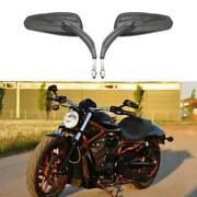 For Harley Davidson Breakout Cvo Pro Street Motorcycle Rear View Side Mirrors Us