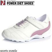 New Womenand039s Power Diet Shoes Pscl-0148 Sports Purple