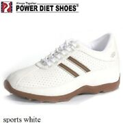 New Menand039s/womenand039s Power Diet Shoes Pscl-0145 Sports White