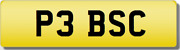 Bsc Pe Peb Sc Bc P3 Private Cherished Registration Number Plate Rare 5 Digit Bsc