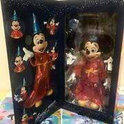Mickey Mouse Limited Wizard Expo Medicom Toy Fantasia Sorcerer D23 2015 Figure