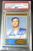 2018 Topps Brooklyn Collection Sandy Koufax Auto 1/1 Signed Autograph Oneofone