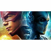 136345 The Flash Zoom Superheroes Series Decor Wall Print Poster