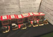 The Americana Collection Set Of 7 Liberty Falls Collection Minitatures
