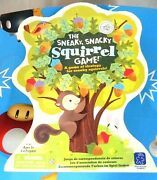 The Sneaky, Snacky Squirrel Toddler And Preschool Board Game Complete