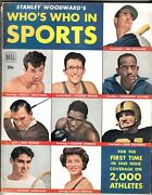 Stanley Woodward's Who's Who In Sports 1950 Ted Williams Rocky Graziano Cover