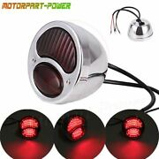12v Motorcycle Fit For Ford Duolamp Model A Tail Light For Harley Bobber Chopper