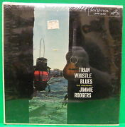 Sealed Album Jimmie Rodgers Train Whistle Blues 1958 Record Country Rca Lpm 1640