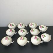 Syracuse Federal Shape China Made In America Cups 10 Total 1free With Small Chip
