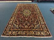 """On Sale S.antique Genuine Vintage Hand Knotted Tribal Area Rug 5'1""""x9'10""""1746"""