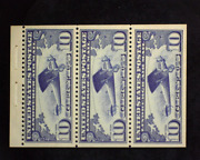 Hsandc Scott C10a Mint Fresh Booklet Panes. Vf/xf Nh Us Stamp