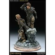 Sideshow Lord Of The Rings Frodo Sam Diorama Figure Limited