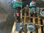 Fisher 8 Butterfly Valve 316 Cl600 E-disc W Fisher Actuator Size 60 Type 1052