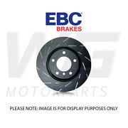 Ebc 304mm Ultimax Grooved Front Discs For Peugeot 308 Sw Mk2 1.6 Turbo 2014-