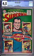 Superman 100 Cgc 4.5 Dc 1955 Anniversary Issue 1 25 50 75 On Cover L3 Cm