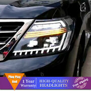 For Nissan Armada Headlights Double Lens Beam Projector Hid Led Drl 2017-2020
