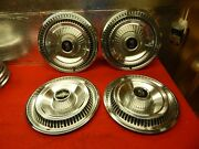 4 Used 67 Ford Ltd 15 Wheelcovers C7az-1130-e Nice
