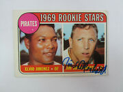 1969 Topps 567 Jim Shellenback Autograph Signed Card Mb Pittsburgh Pirates