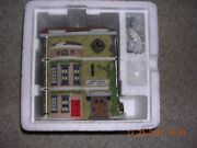 Dept 56 Dickens Village Series Collection King's Road Post Office Mib