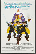 The Three Musketeers Orig 1974 One Sheet Movie Poster Oliver Reed/ Raquel Welch