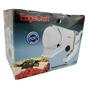 Chef's Choice Edgecraft 607e Premium Electric Slicer Deli Meat Cheese New