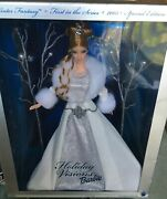 2003 Winter Fantasy Holiday Visions Barbie Doll 1st Series Special Edition-new