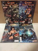 Zenescope Grimm Fairy Tales 2017 Halloween Special One Shot Comic Lot A-d Covers