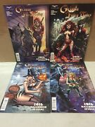 Zenescope Grimm Fairy Tales 2016 Halloween Special One Shot Comic A-d Covers