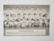 Ft. Fort Wayne Indiana General Electric Baseball 1947 Team Picture