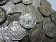 4 Digit Full Dated Buffalo Nickel Rolls 40 Coins/roll Unsearched Good + 20-30and039s