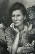 The Other Series After Lange By Kathy Grove 1989 Silver Photo Female Portrait