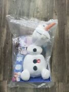 Disney Frozen Pull Apart And Talkinand039 Olaf Large 15 Plush With Tags
