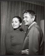 Glenn Ford And Cynthia Hayward Vint Orig Photo By Nate Cutler See Condition