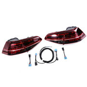 Dynamic Taillights And Upgrade Cable Kit Led Fit For Vw Golf Mk7 15-18
