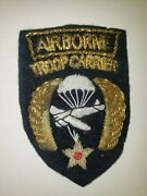 Wa1-2 Original Ww2 Us Army Airborne Troop Carrier Command Air Force Bouillon Aaf