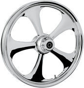 Rc Components Nitro Chrome Dual Disc 23 Abs Front Wheel 08-17 Harley Touring