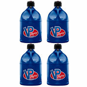 Vp Racing Motorsport 5 Gallon Round Plastic Container Utility Jug Can 4 Pack