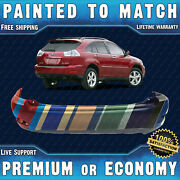 New Painted To Match - Rear Bumper For 2004-2009 Lexus Rx330 Rx350 Rx400h 04-09