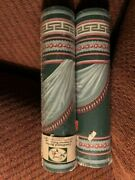 Vtg Croscill Coordinated Borders By Imperial Wallcoverings - 5 Yards Green