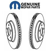 Mopar Pair Set Of Front Left And Right Brake Rotors For Dodge Charger Challenger