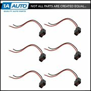 Fuel Injector Pigtail Harness Kit Set Of 6 For Chevy Mazda Ford Buick Hyundai