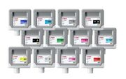 12x Original Ink Canon Ipf8300 Ipf8400/pfi-306 Mbk Gy C M Y Pc Pm Cartridges