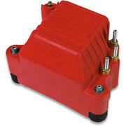 Msd Ignition Coil 8142 Pro Mag 44 Red 45,000 Volts Magneto Hei Male