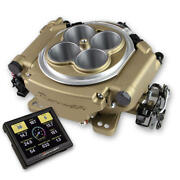 Sniper Motorsports Fuel Injection System 550-517 800 Cfm Classic Gold Th-350