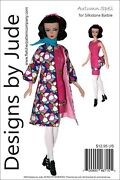 Autumn Spell Doll Clothes Sewing Pattern Silkstone Barbie Dolls